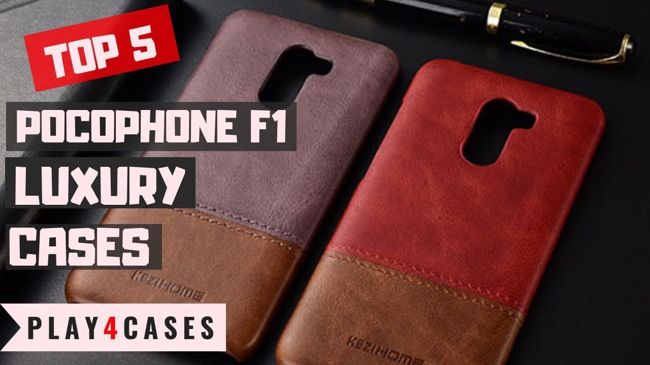 check out 12077 691a1 Pocophone F1 Poco F1 Luxury leather cases - TOP 5 CASES