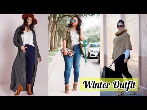 Ropa Para Gorditas Moda Otono Invierno 2016 2017 Moda Para Gorditas Tallas Grandes Youtube