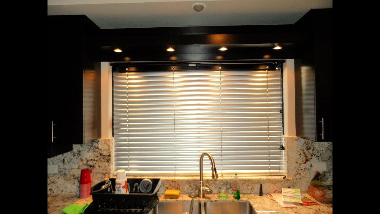 Persianas retro de madera y aluminio youtube - Que cortinas poner en la cocina ...