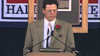 Carlton Fisk 2000 Hall of Fame Induction Speech