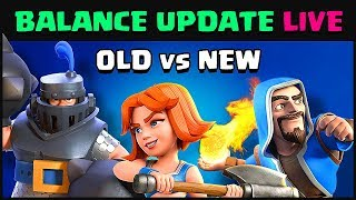 Balance Changes JUNE 2018 BEFORE & AFTER | Clash Royale