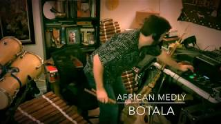 Looping with West African instruments. Botala.
