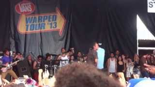 3oh 3 i m not your boyfriend baby chokechain hd live at warped tour 2013 toronto