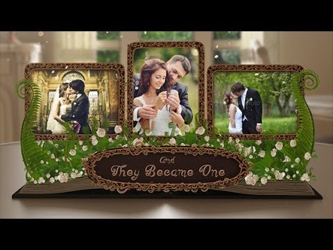 Simple and Beautiful Wedding Day Video Template