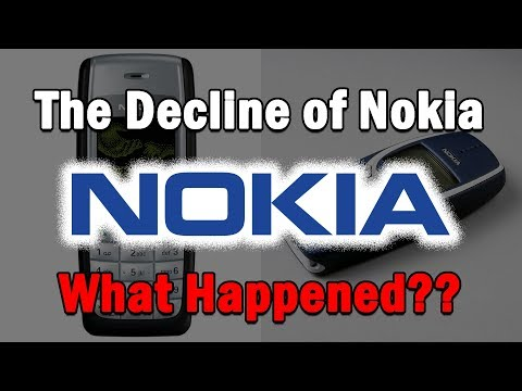 The Decline of Nokia...What Happened?.