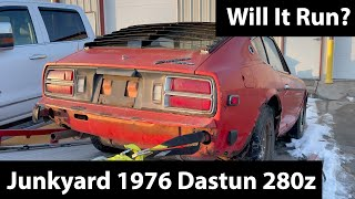 1976 Datsun 280z - Will It Run?