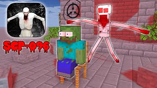 Monster School : SCARY SCP-096 IS ATTACKING MONSTER SCHOOL - Minecraft Animation