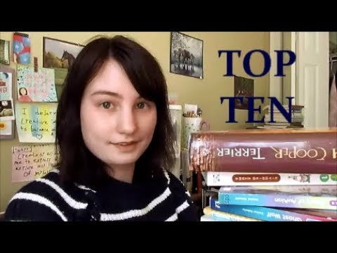 My Top 10 Most-Read Authors!