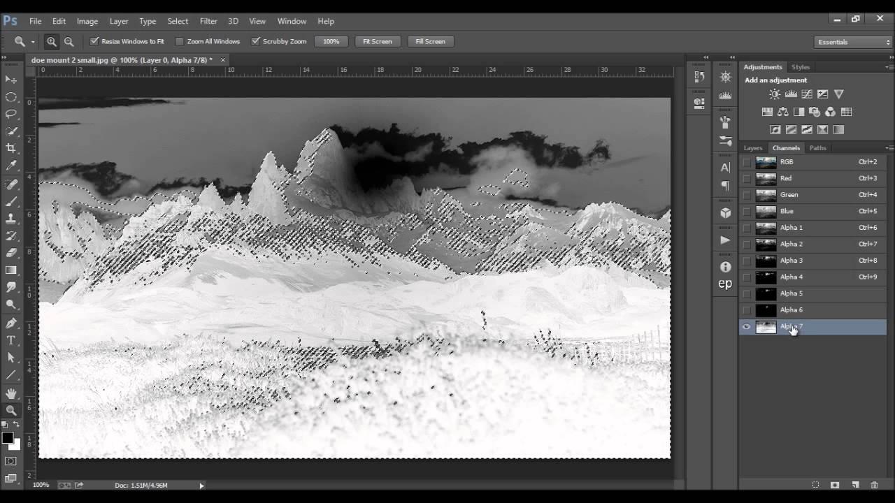 Photoshop tutorials: using luminosity masks in photoshop youtube.