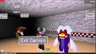 SpidermanProductions plays ROBLOX: Five Nights at Chuck E Cheese