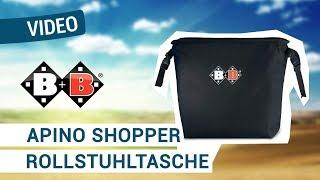 Produktvideo zu Rollstuhl- und Rollatorentasche Bischoff & Bischoff Apino Shopper
