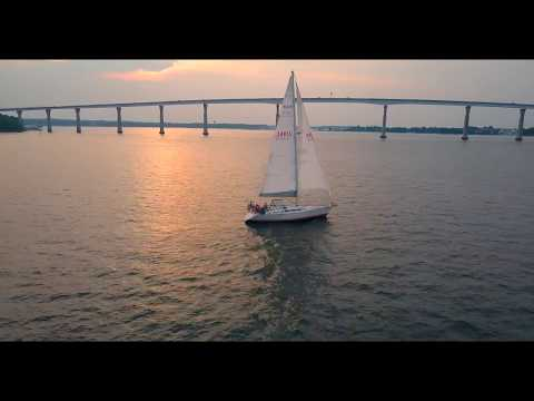 Solomons Island From the Air