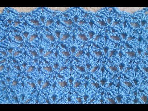 Crochet Pattern – Umbrella Shell Crochet Stitch