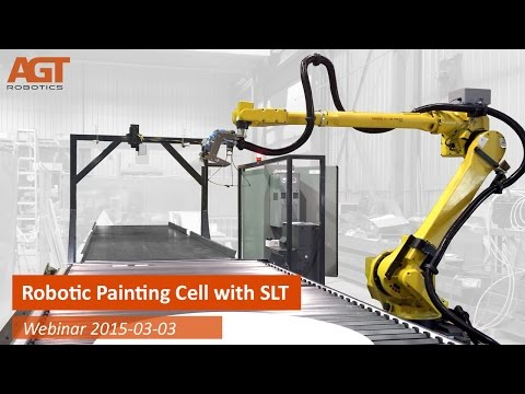 Robotic Painting Cell with SLT