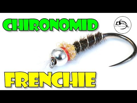 Chironomid Frenchie (aka Silver Lancer) -- Stillwater SLAYER