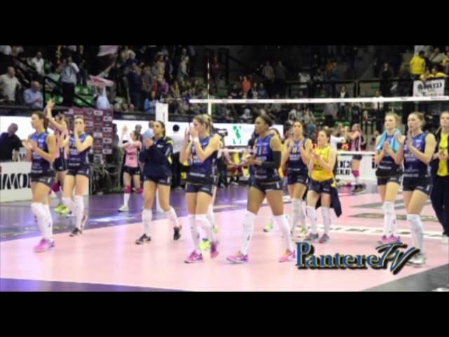 PALAVERDE. Play-off, sem., gara 4. Imoco Volley Conegliano Vs Pomì Casalmaggiore. 26 aprile 2015