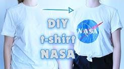 DIY | Le t-shirt NASA