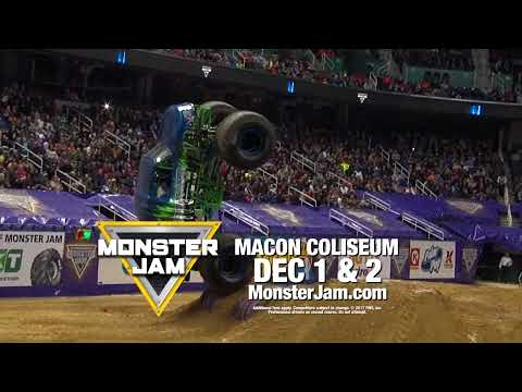 Monster Jam at the Macon Coliseum