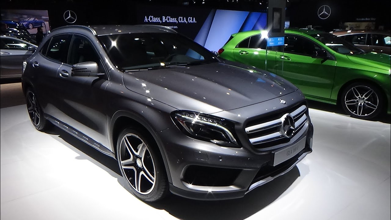 2016 - mercedes-benz gla 180d - exterior and interior - auto show
