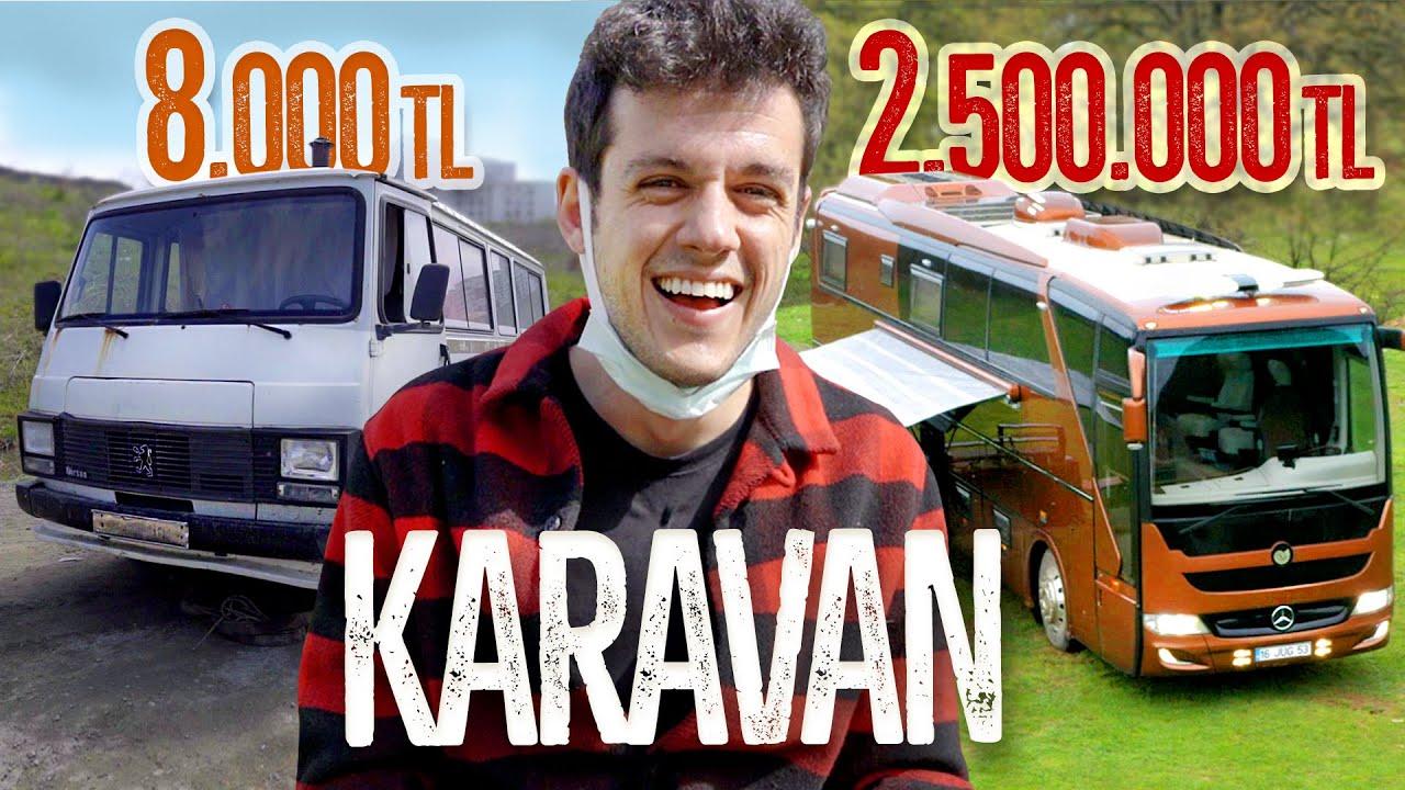 8.000 TL KARAVAN vs. 2.500.000 TL KARAVAN (#SonradanGörme)