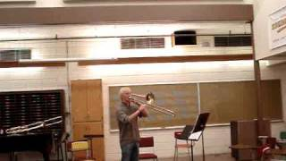 High range development on trombone