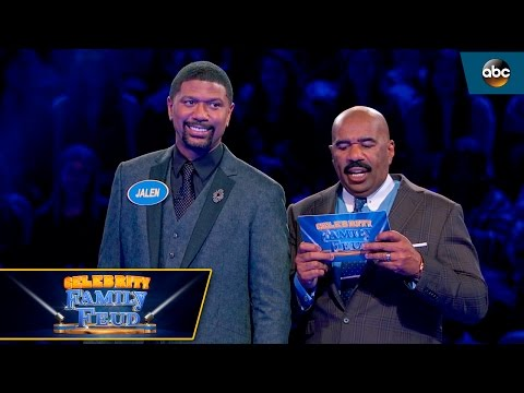 Jalen Rose's Close Call On Fast Money - Celebrity Family Feud