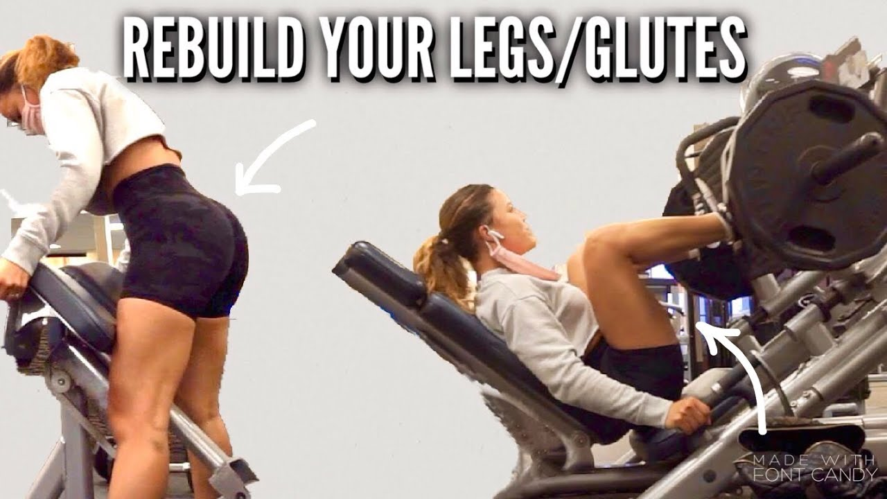 How to Re-Build Muscle Mass in Glutes/legs