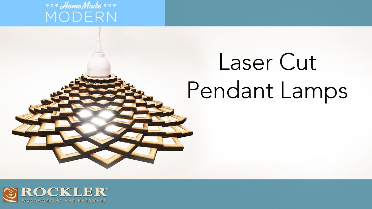 Laser Cut Pendant Lamp Project Homemademodern