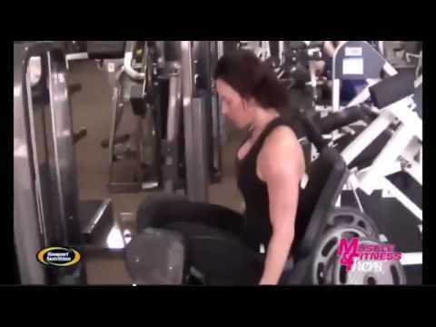 Ava Cowan - Muscle and Fitness Hers - Intense Leg Workout
