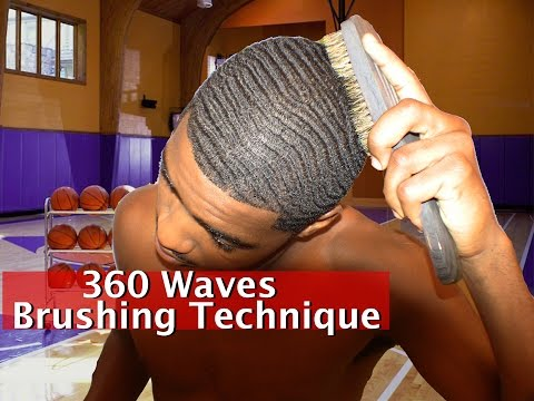 How to Brush 360 Waves: Perfect Brushing Technique