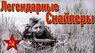 Лучшие снайперы Красной армии   Часть 1   ТОП снайперов СССР ВОВ