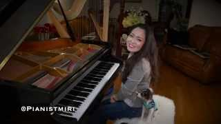 Video R. City - Locked Away ft. Adam Levine | Piano Cover by Pianistmiri 이미리 download MP3, 3GP, MP4, WEBM, AVI, FLV Oktober 2017