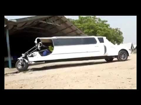 OMG  LOOK AT THIS AMAZING BICYCLE LIMOUSINE BY APOSTLE KWADWO SARFO!!! Must Watch