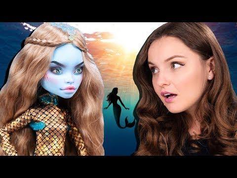 ООАК Русалочка РУСЛАНА: обзор куклы и история