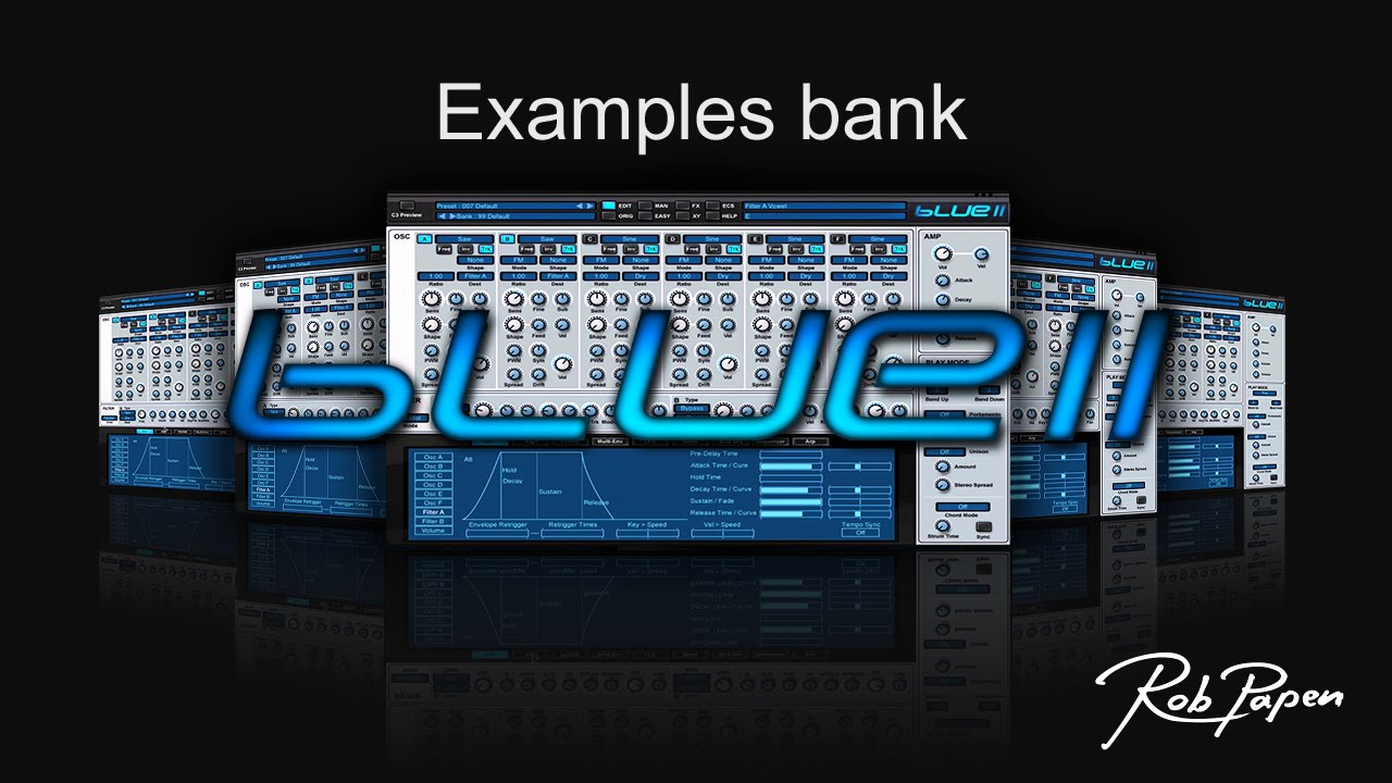 BLUE-II and its 'examples bank'