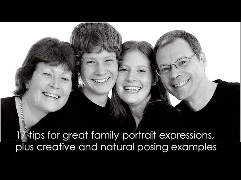 Get great expressions for family portraits plus posing examples Mp3