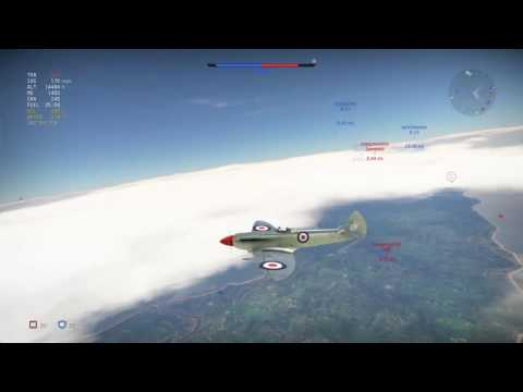 flying 5.3 british warthunder gameplay