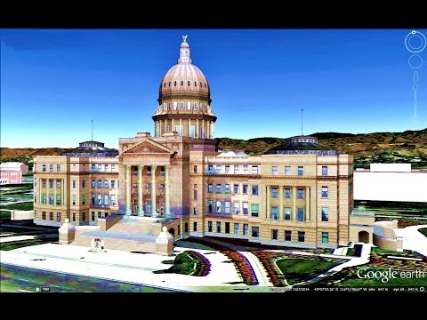 HISTORICAL PLACES OF IDAHO STATE,U S A  IN GOOGLE EARTH