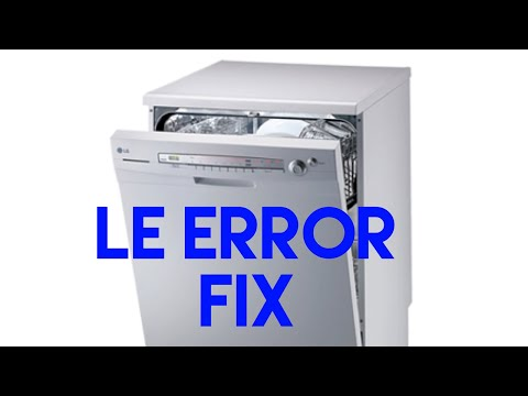 LG dishwasher error code le   Washer and dishwasher error codes and