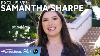 Samantha Sharpe Reflects On Auditioning In Front Of Her Whole Family! - American Idol 2021