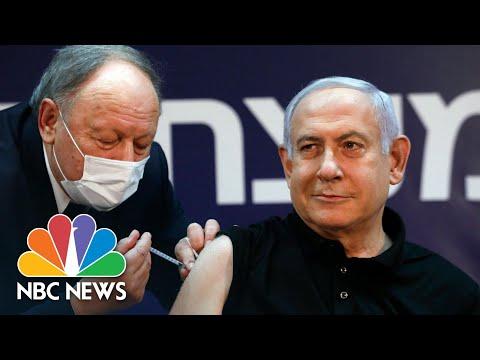 Israeli PM Benjamin Netanyahu Receives Pfizer Vaccine | NBC News