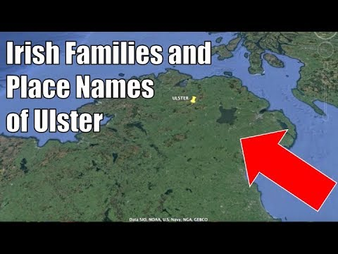 Irish Families And Place Names Of Ulster (1/4)