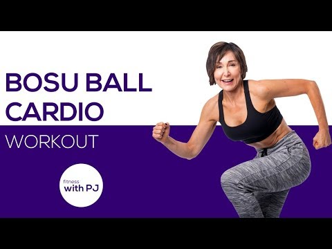 30-Minute BOSU Cardio Workout + Abs