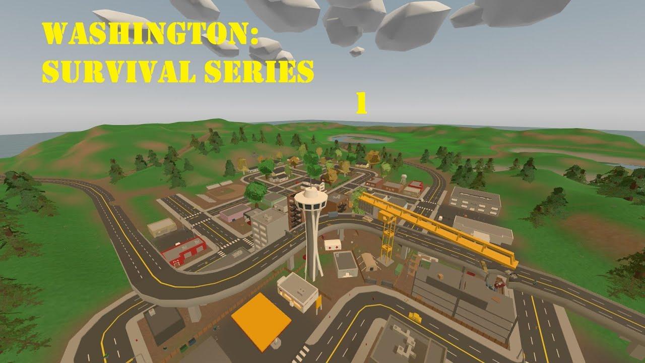 Unturned Seattle Map.Unturned Washington Map Loot Bnhspinecom Map Of Czech Republic