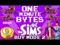 The Sims 1: Buy Mode 2 Music - One Minute Bytes #2 (The 8-Bit Big Band)