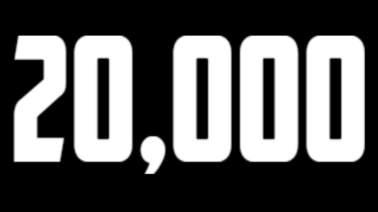 20k subscribers youtube