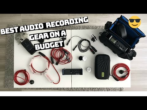 Best Field Recording Gear For Sound Designers Audio Engineer & Sound Recordists On A Budget
