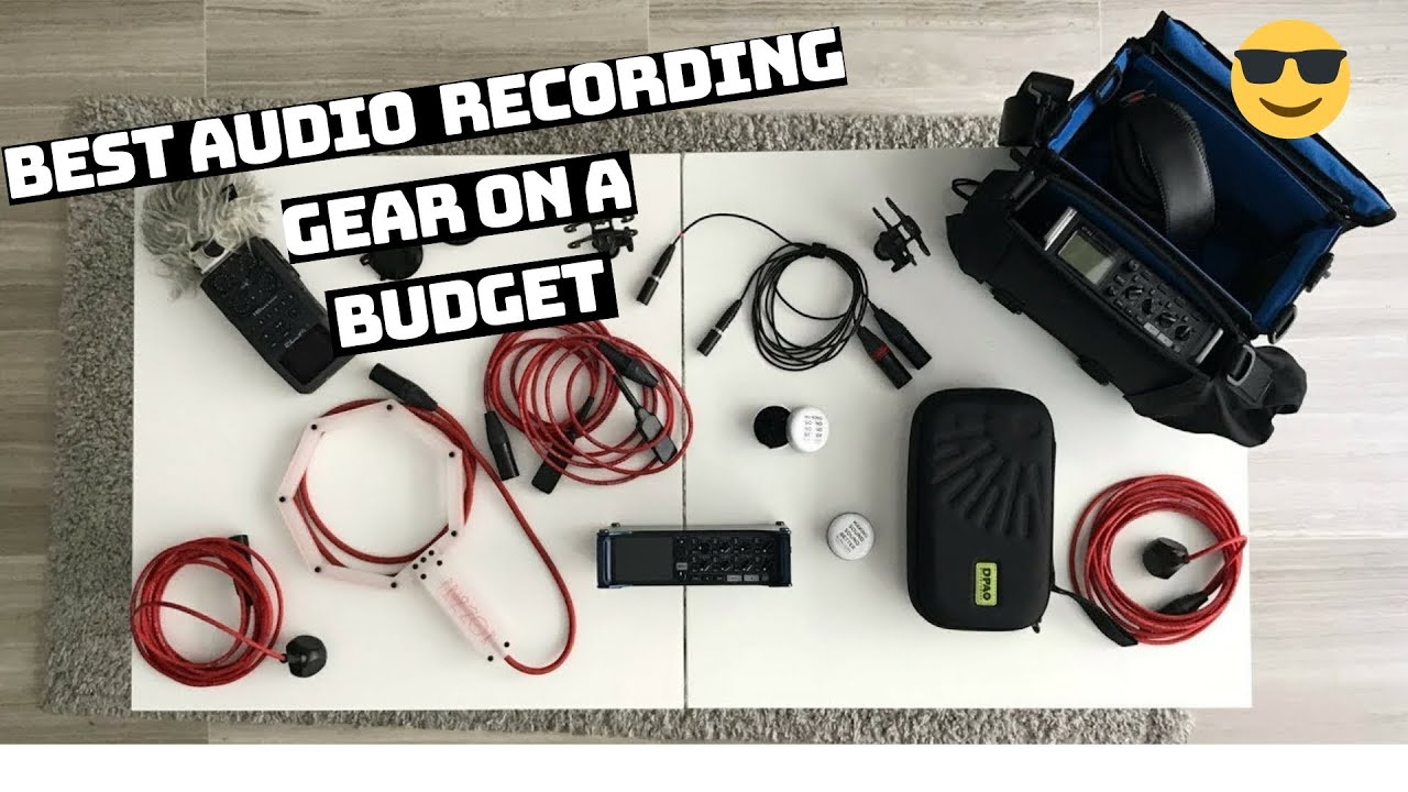 Best Recording Gear For Sound Designers Audio Engineer & Sound Recordists  On A Budget | Marcel Gnauk
