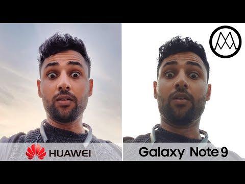 Huawei Mate 20 Pro vs Samsung Galaxy Note 9 Camera Test Comparison!