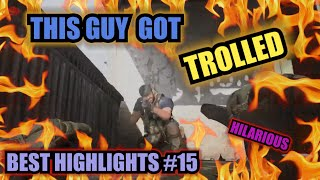 Funny Troll Moment L Best Highlights Modern Warfare 15 L Amazing Clutch Clip